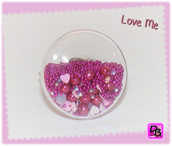 Bague globe [Love me]