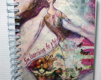 Mixed Media Art Journal: Janie ButterFLY