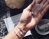 February birthstone, Amethyst bracelet, boho bracelet ideas, Boho jewellery, healing crystals beaded bracelet, healing crystal gift