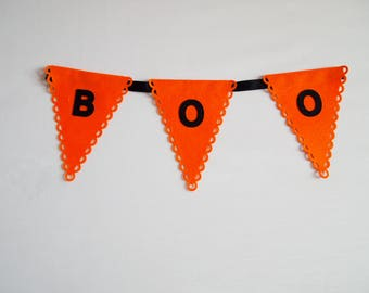 Halloween Garland, Custom Banner, Party Bunting, Personalised Bunting, Party Decorations, Halloween Decor, Table Decorations