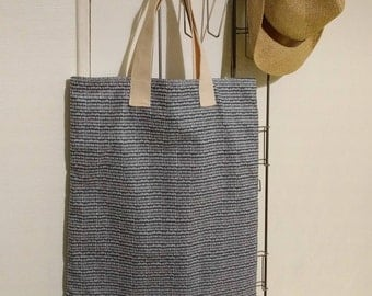tote bag lined in cotton