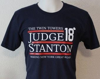 Judge  Stanton Twin Towers 2018 Yankees