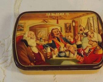 Boite tôle tabac Welta. Tobacco tin box. Vintage