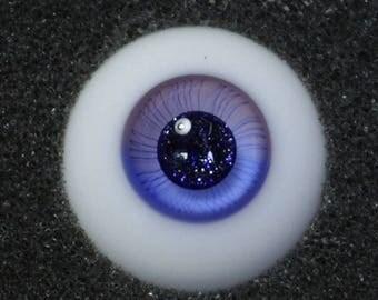 Fairy Dust - Handmade Gradient Purple BJD Glass Eyes (D11) | 14mm, 16mm