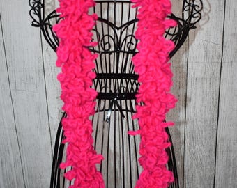 Loopy Scarf – Hot Pink