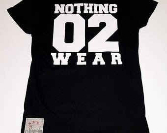 Nothing 2 Wear, Little Girls Fine Jersey V-Neck T-shirt in Sizes XS-XL in 14 Colors