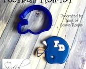 Football Helmet Cookie / Fondant Cutter