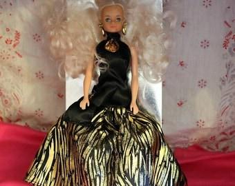 Le Bal De Sandrine, Poupee Mannequin Articulee 29cm