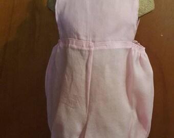 Soft cotton Romper Pink Size 6mos