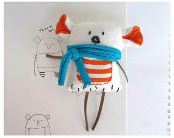 Bear Brooch Pin