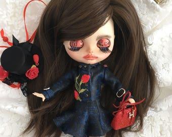 Blythe doll Art doll Collectible dolls Ooak doll Gift for girl doll Ooak art doll Art dolls for sale Blythe doll custom Blythe ooak