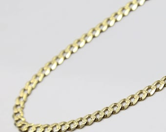 14K Gold Cuban Link Bracelet