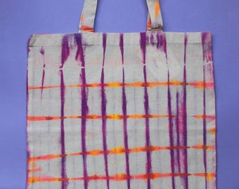 Stripy Tote | Tie Dye Tote Bag |Magical |Quote tote| Handmade |Summer love |Magical |Festival Tote|Summer Tote| Magical Dreams | Fabric Pens