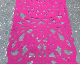 Papel picado table runner, mexican table runner, fiesta decorations, mexican party decorations, fiesta party decorations, mexican decoration