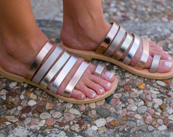 Greek Leather Sandals,Ancient Greek sandals,Strappy sandals,Handmade sandals,Women sandals,Roman sandals,Triskelion,IRIS,