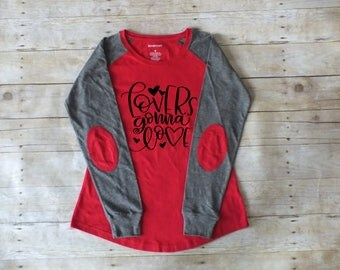 Lovers Gonna Love Valentines Day Shirt, Elbow Patch Shirt
