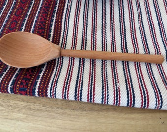Wooden Spoon Handmade,Wood Spoon And Fork,Rustic Spoon,Primitive Spoon,Primitive Kitchen Decor,Farmhouse Spoon,Cooking Spoon,Kitchen Utensil