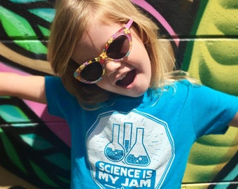 Science Shirt, Gift for Science Teacher, Pro Science Tshirt, Kids Science Shirt, Science is my Jam, girls science shirt