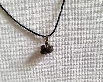Genuine Meteorite Choker Necklace