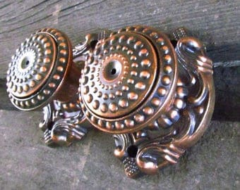Vintage door knob DoorKnob Metal door knob Retro door knob Shabby chic decor Door hardware Antique door knob soviet door handles