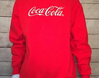 Rare Vintage 1993 Coca Cola Sweatshirt crewneck