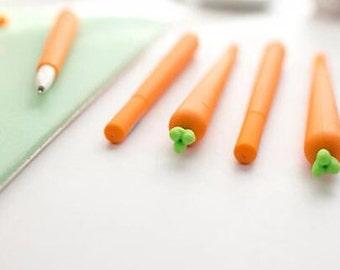 Carrot pen, stationery, novelty stationery, funny stationery, stationery set, bullet journal,planner, agenda