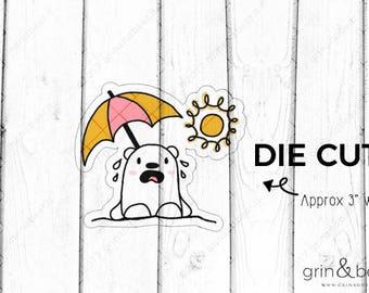 Hot Sun - Barry the Bear Die Cut (BD035)