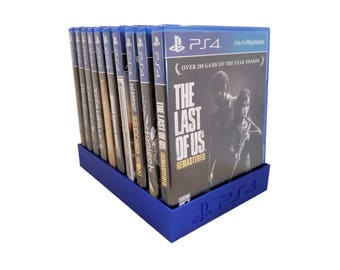 PlayStation 4 PS4 Game Case Tray Holder, Organizer