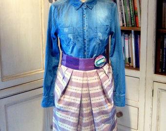 """Size 38/40 """"teleportation"""" knee-length Tulip skirt"""