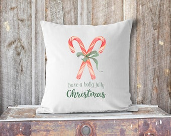 Have a Holly Jolly Christmas Pillow Cover
