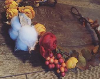 Ready for Fall Ya'll Floral Crown
