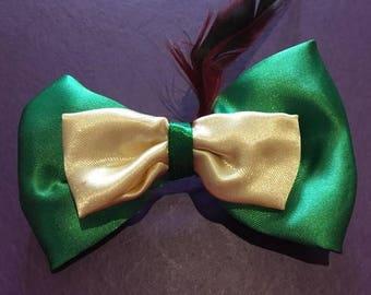 Disney Peter Pan Inspired Hair Bow