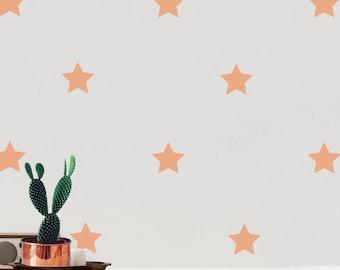Nursery Wall Decals Star Stickers, Wall Stickers Wall Star Stickers, Vinyl Wall Decal Stickers Stars, Kids Room Peel Stick,