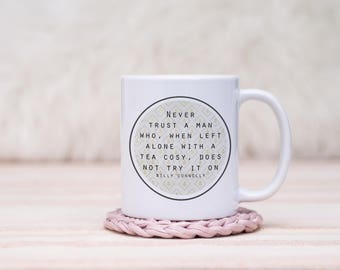Billy Connolly on Tea Cosies Mug