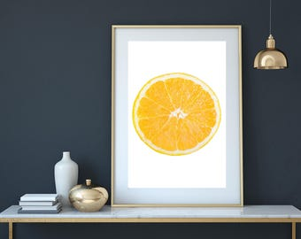 Citrus print, Kitchen print, lemon print, fruit print, citrus poster, kitchen decor, kitchen art, kitchen poster, kitchen wall art, orange