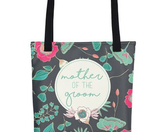 Mother Of The Groom Gift | Gift For Grooms Mother | Personalized Bridal Tote Bag | Bridal Party Tote | Bridal Tote | Custom Bridal Tote Bag