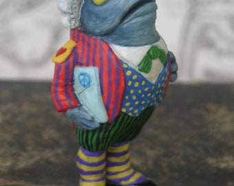"""Figurine """"Jack of foot-fish/Fish Footman/Alice's Adventures in Wonderland / the adventures of Alice in Wonderland/art doll/figurine"""""""