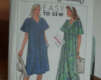 Simplicity Pattern 9154 Size CC (M-XXL), Pullover Short Sleeve Dress