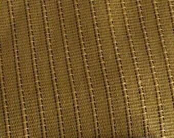 "Vintage Mid Century - Rib Woven- Harvest Gold Bedspread/Coverlet- 88"" x 105"""