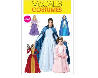 McCall's 6420 (MP255) - Misses'/Children's/Girls' Storybook Character Costumes
