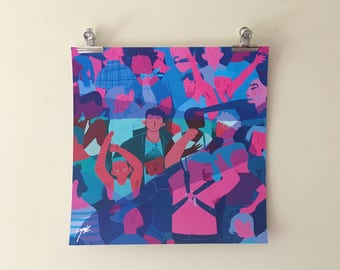 Club Print 30 x 30cm