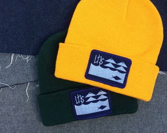 UNS Beanie, Sign Of Life design.