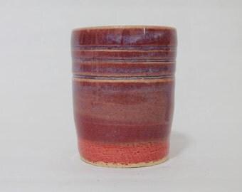 Ceramic Cup, Red Ceramic Cup, Red and Blue Ceramic Cup (19)