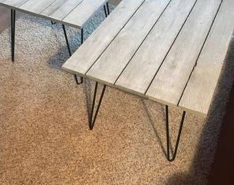 Rustic coffee table - gray coffee table - rustic coffee table - grey coffee table - coffee table - shiplap - rustic table - rustic furniture
