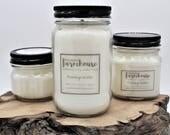 Pomegranate - Soy Candle - Jar Candle - Mason Jar - Farmhouse - Scented Candle - Farmhouse Decor - Candle - Clean Burning