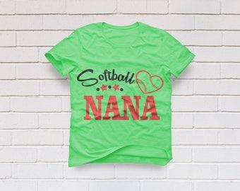 Softball svg, Softball Nana svg, Softball Mimi svg, Mimi Shirt, Baseball mom svg, Baseball svg, Mom, Cricut, Cameo, Svg, DXF, Png, Pdf, Eps