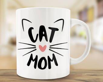 Best Cat Mug | Cat Mom Mug | Ceramic Mug | Quote Mug | Unique Coffee Mug For Mom | Personalized Coffee Mug | Cat Mug | Gift Mug | Funny Mugs
