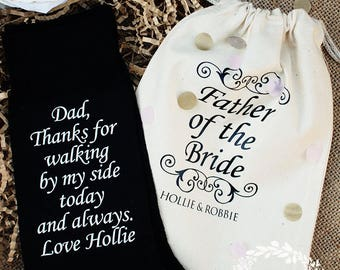 Father of the Bride Socks | Gift | Sentiment | For Dad | Dad Socks