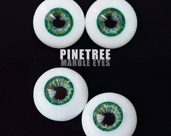 Marble Eyes Pine Tree 12mm [IN-STOCK] Enchanted Doll Eyes