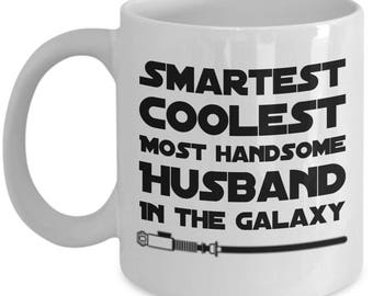 Tech Gift | star wars gift | star wars gift for him | star wars gift for husband | Star Wars I Love You Mug | Star Wars Mug
